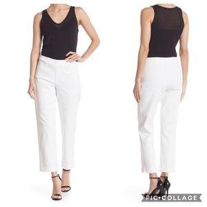 Jarbo Side Zip Straight Leg Pants in Optic White